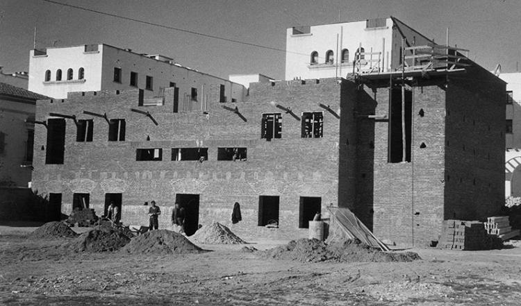 Construcción Sede 1954